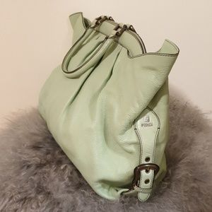 Fendi Bags - FENDI leather hobo bag